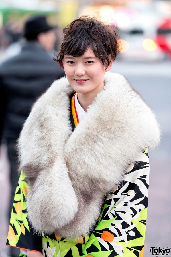 Coming of Age Day Kimono in Japan (16)