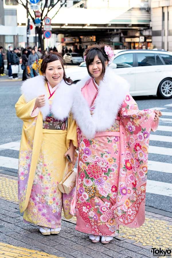 Coming of Age Day Kimono in Japan (22)