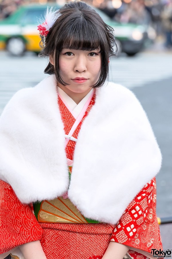 Coming of Age Day Kimono in Japan (25)