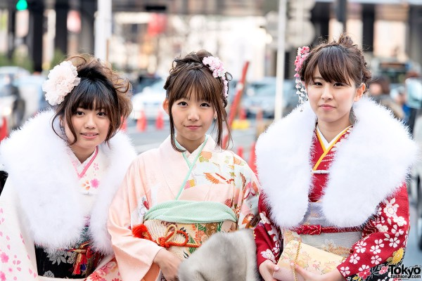 Coming of Age Day Kimono in Japan (27)