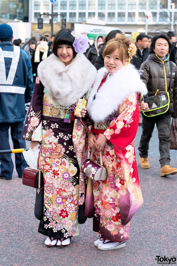 Coming of Age Day Kimono in Japan (28)