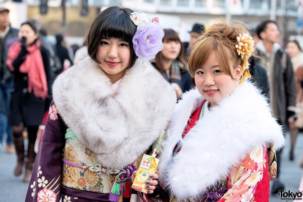 Coming of Age Day Kimono in Japan (29)