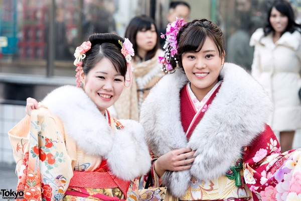 Coming of Age Day Kimono in Japan (31)