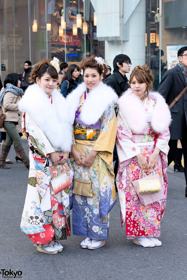 Coming of Age Day Kimono in Japan (33)