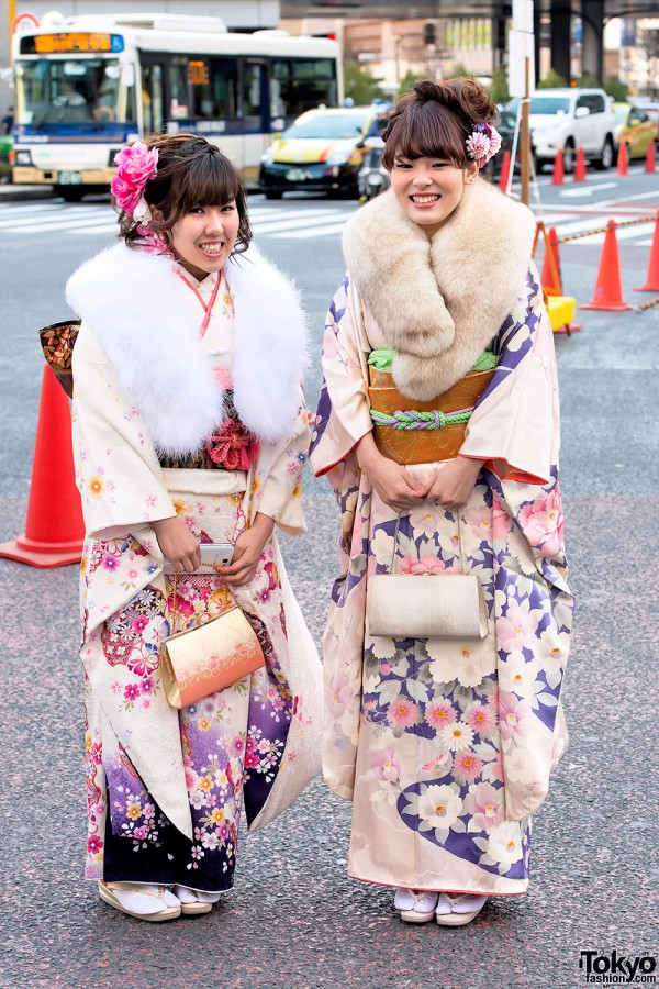 Coming of Age Day Kimono in Japan (35)