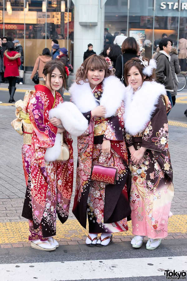 Coming of Age Day Kimono in Japan (37)
