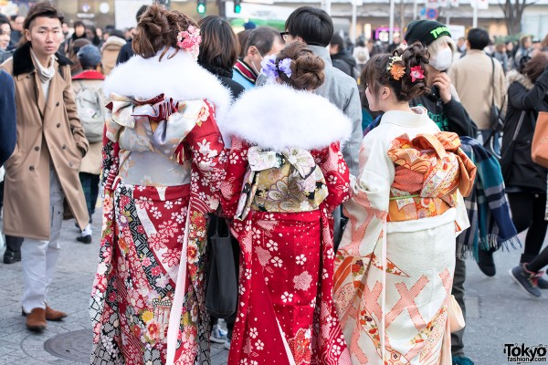 Coming of Age Day Kimono in Japan (39)