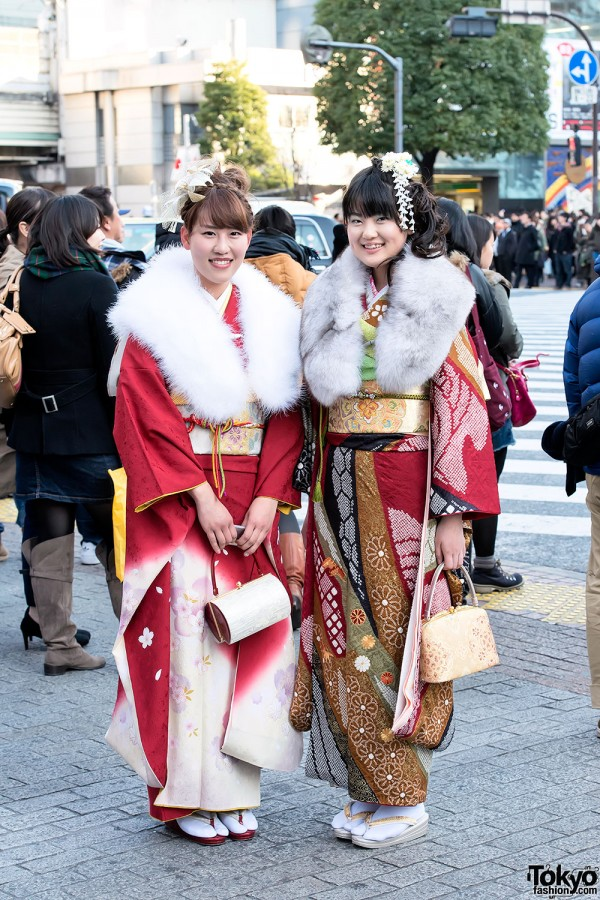 Coming of Age Day Kimono in Japan (40)