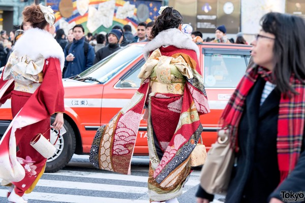 Coming of Age Day Kimono in Japan (42)