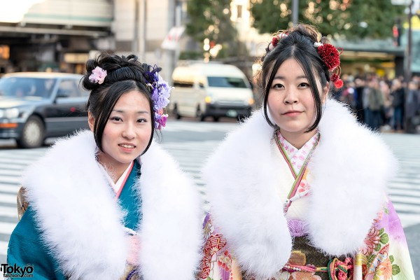 Coming of Age Day Kimono in Japan (45)