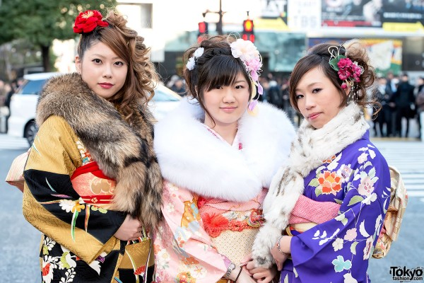 Coming of Age Day Kimono in Japan (47)