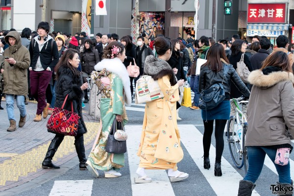 Coming of Age Day Kimono in Japan (48)