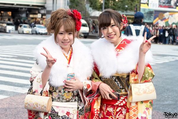 Coming of Age Day Kimono in Japan (52)