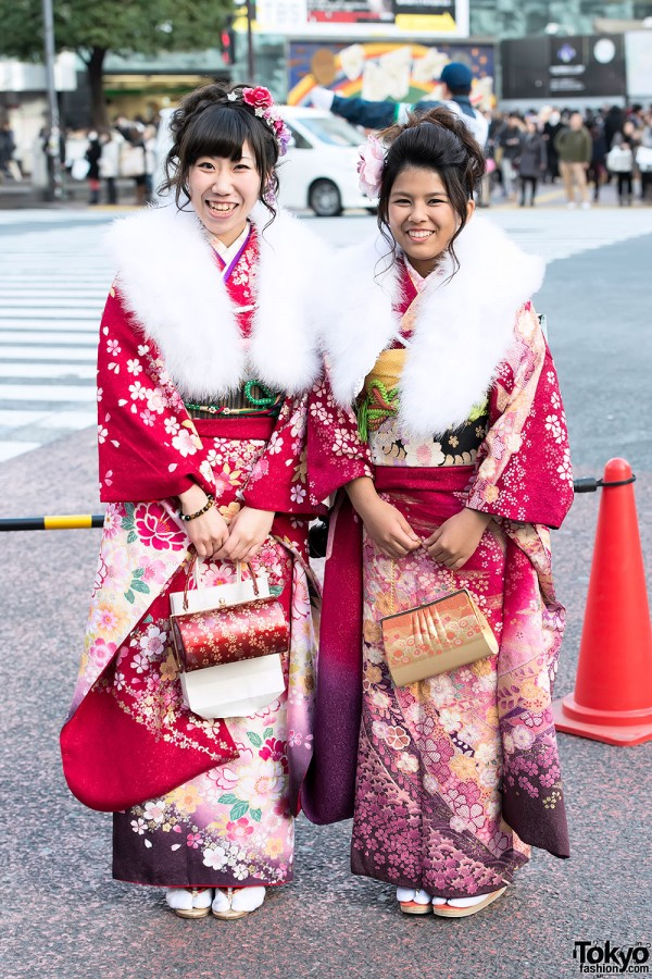 Coming of Age Day Kimono in Japan (53)