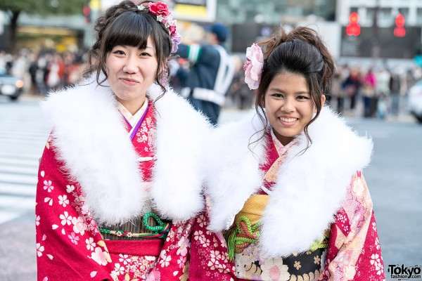 Coming of Age Day Kimono in Japan (54)