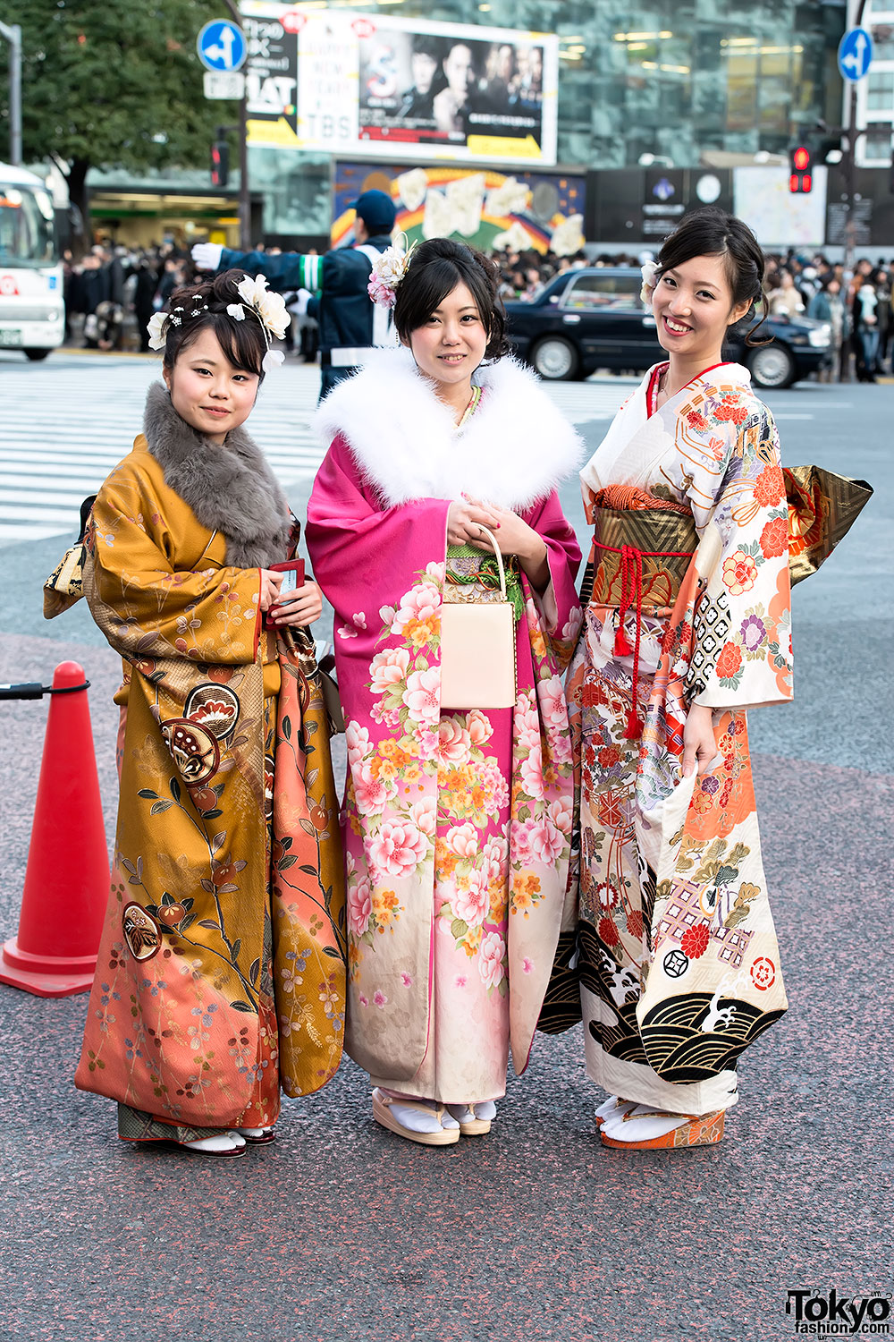 Coming of Age Day in Japan – Kimono Pictures 2014