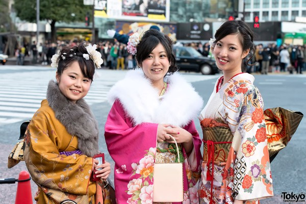 Coming of Age Day Kimono in Japan (56)