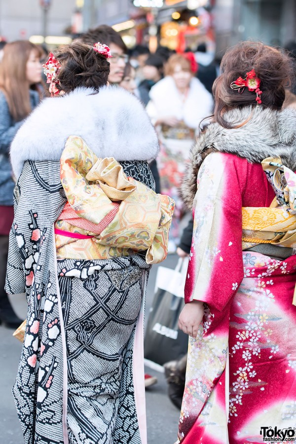 Coming of Age Day Kimono in Japan (58)
