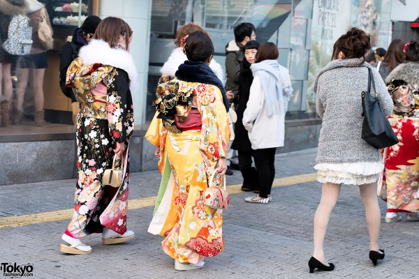 Coming of Age Day Kimono in Japan (59)