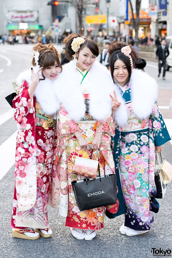Coming of Age Day Kimono in Japan (62)