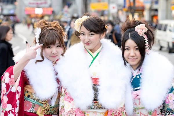 Coming of Age Day Kimono in Japan (63)
