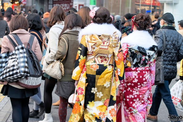 Coming of Age Day Kimono in Japan (65)