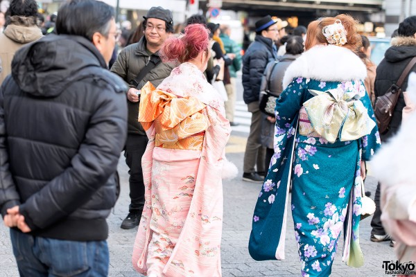 Coming of Age Day Kimono in Japan (72)