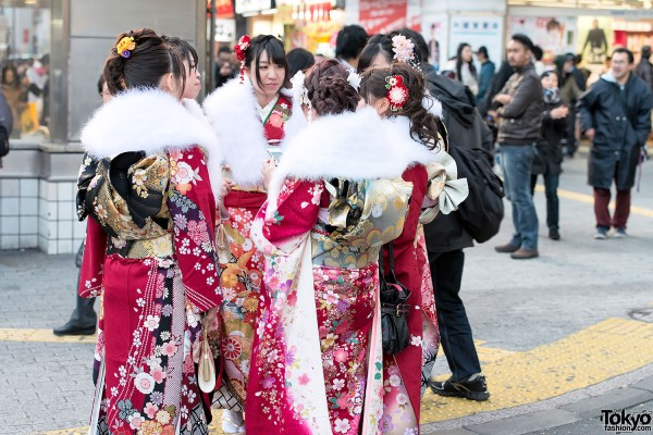 Coming of Age Day Kimono in Japan (75)