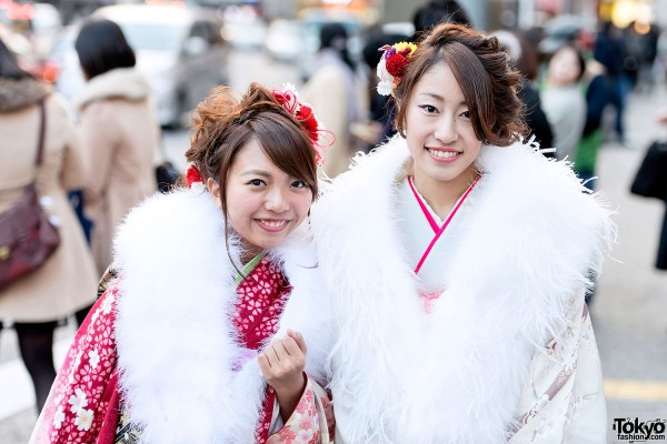 Coming of Age Day Kimono in Japan (77)