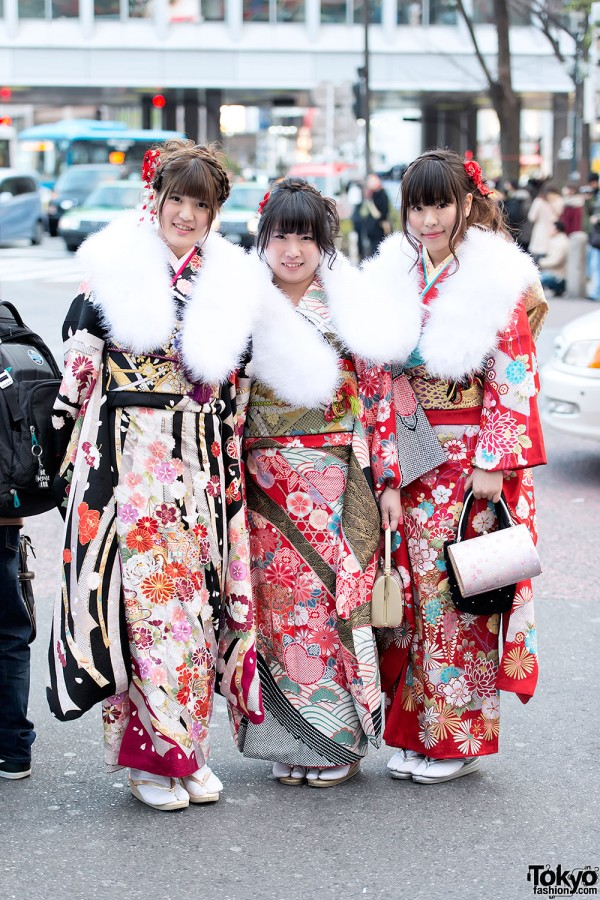 Coming of Age Day Kimono in Japan (78)