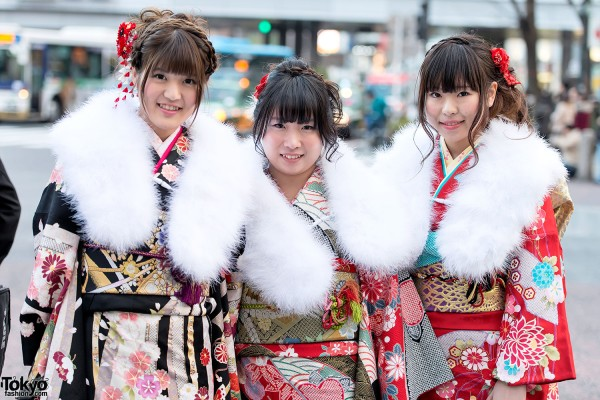 Coming of Age Day Kimono in Japan (79)