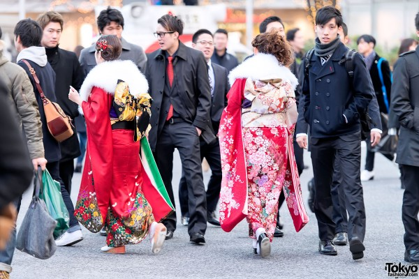 Coming of Age Day Kimono in Japan (80)