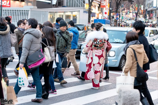 Coming of Age Day Kimono in Japan (84)