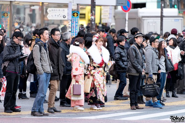 Coming of Age Day Kimono in Japan (85)