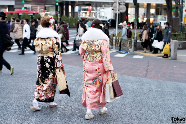 Coming of Age Day Kimono in Japan (86)