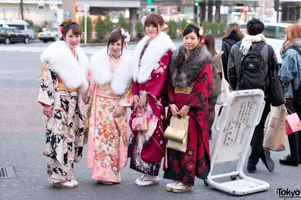 Coming of Age Day Kimono in Japan (87)
