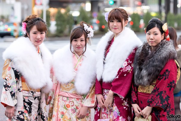 Coming of Age Day Kimono in Japan (88)