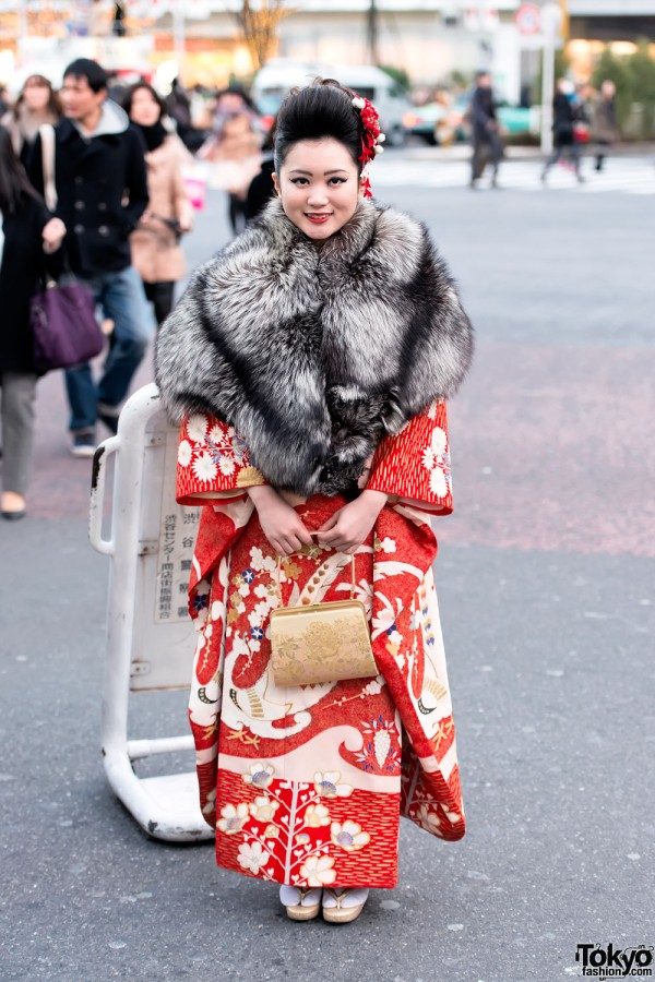Coming of Age Day Kimono in Japan (89)