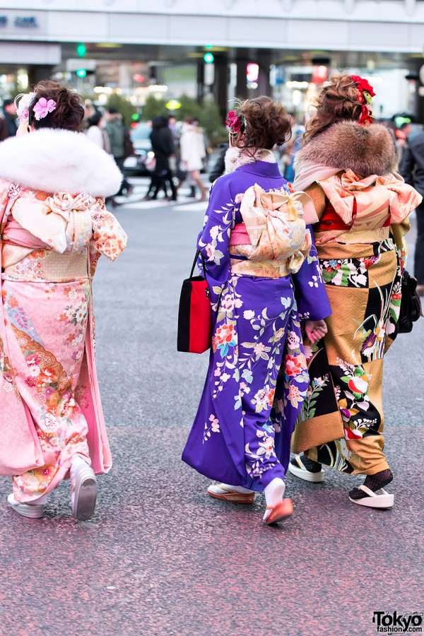 Coming of Age Day Kimono in Japan (91)