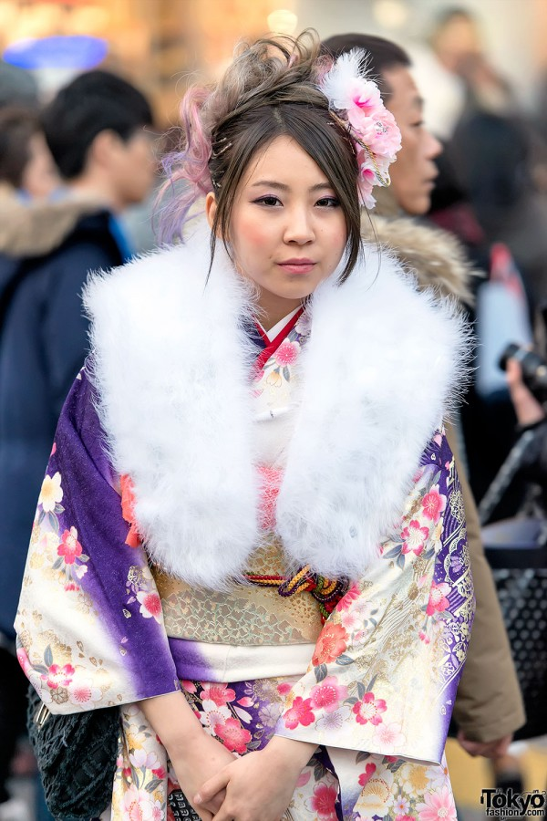 Coming of Age Day Kimono in Japan (93)