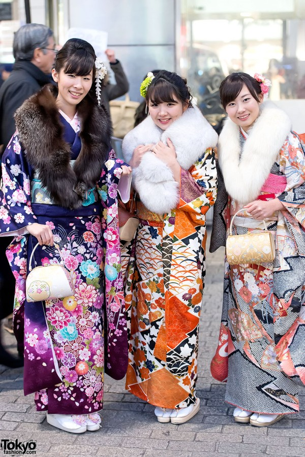 Coming of Age Day Kimono in Japan (96)