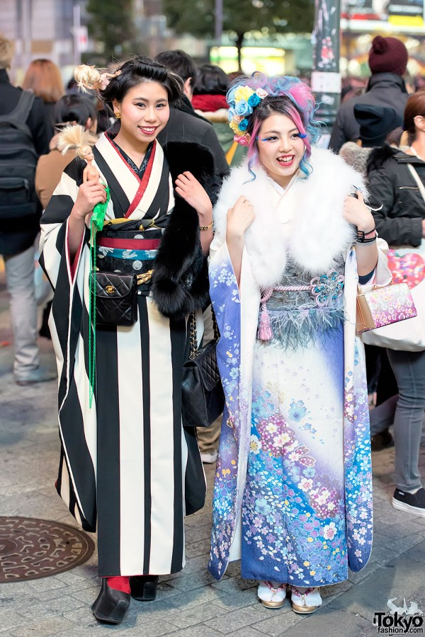 Coming of Age Day Kimono in Japan (98)