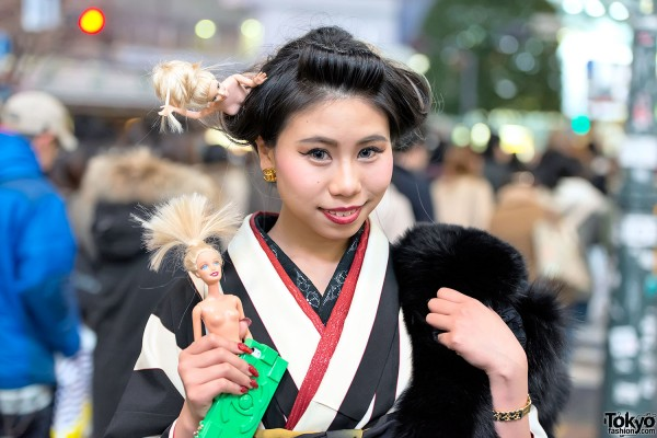 Coming of Age Day Kimono in Japan (99)