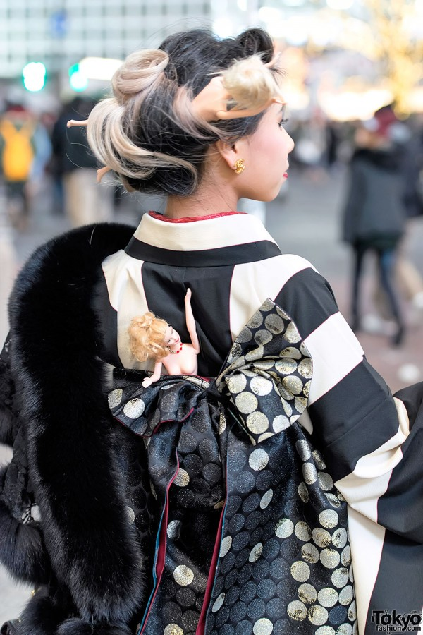 Coming of Age Day Kimono in Japan (100)