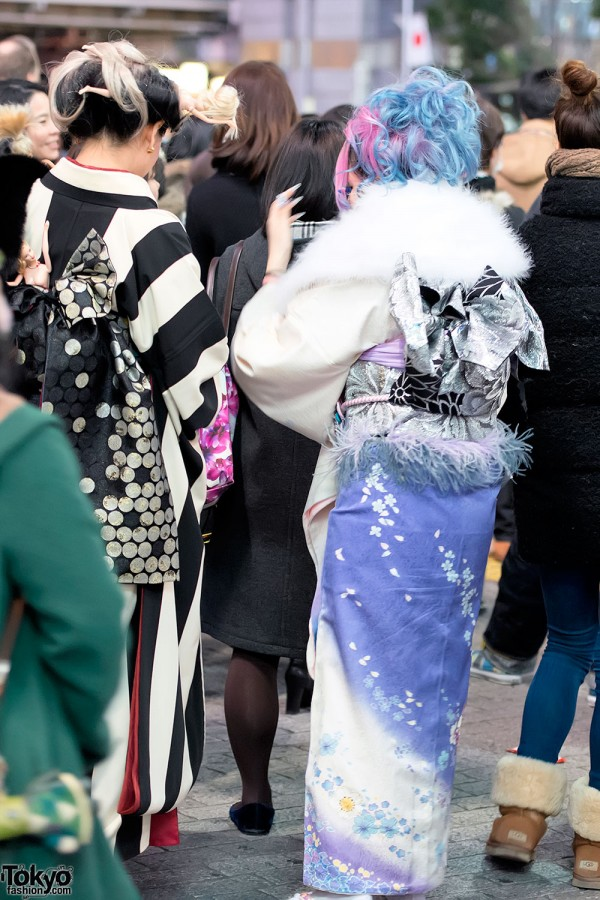 Coming of Age Day Kimono in Japan (101)