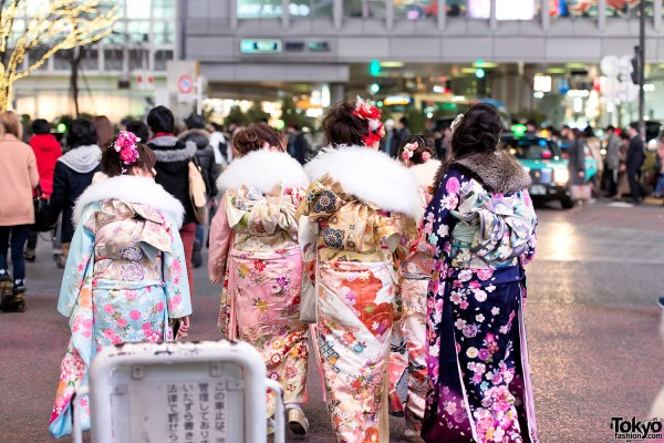 Coming of Age Day Kimono in Japan (102)