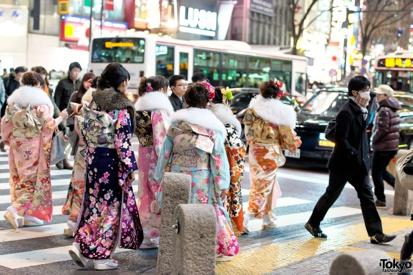 Coming of Age Day Kimono in Japan (103)