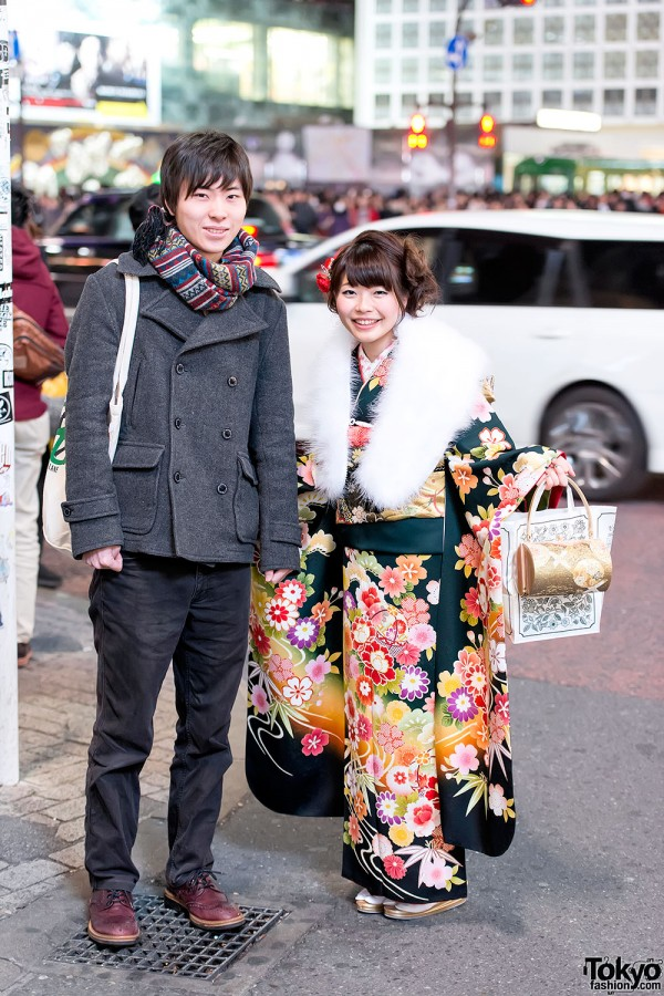 Coming of Age Day Kimono in Japan (105)