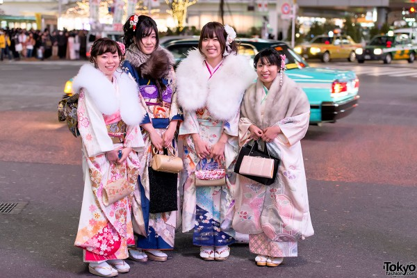 Coming of Age Day Kimono in Japan (107)