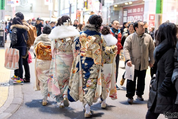 Coming of Age Day Kimono in Japan (108)